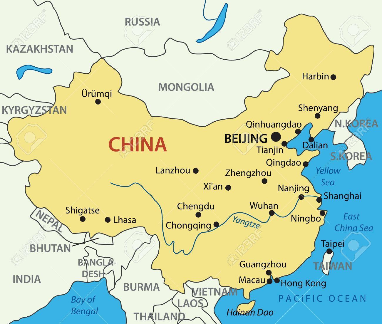 kart over kina Kart over Kina gulehavet   gulehavet Kina kart (Øst Asia   Asia) kart over kina